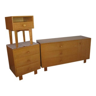 Herman Miller, George Nelson 1950's Bedroom Furniture For Sale