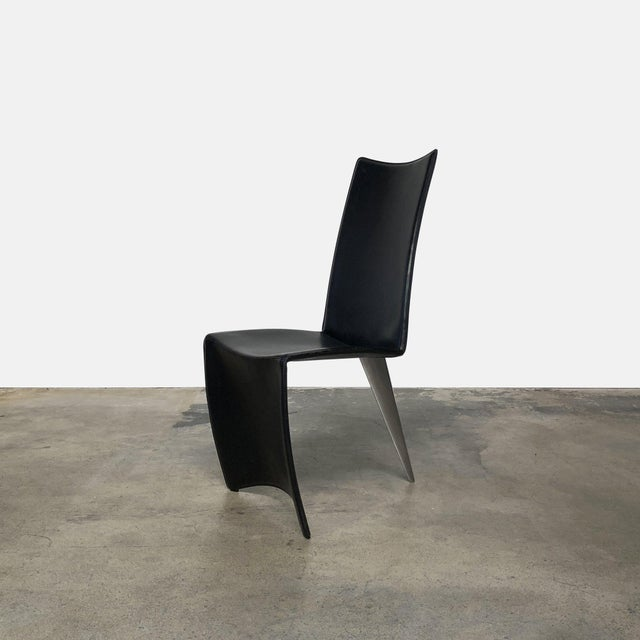 Driade Driade 'Ed Archer' Dining Chair by Philippe Starck For Sale - Image 4 of 4