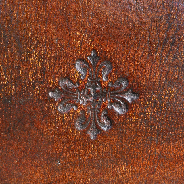 Late 19th Century Large Victorian Mahogany Writing Table For Sale - Image 5 of 13