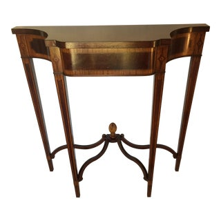 1940s Federal Williams-Kimp Furniture Co Mahogany Console For Sale