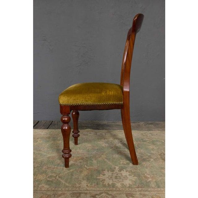 Single Mahogany Side Chair, William IV English - Image 4 of 11