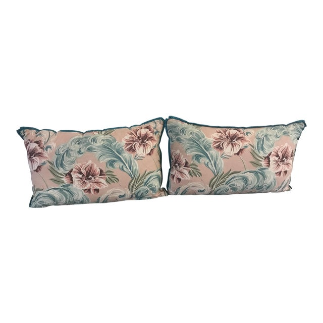 21st Century Hawaiian Small Pillows - a Pair For Sale