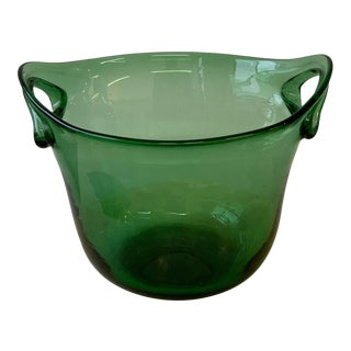 Vintage New Glass Ice Buckets For Sale Chairish
