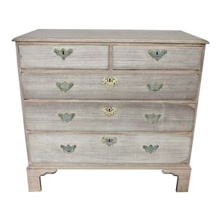 English Bleached Chest of Drawers For Sale