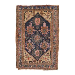 Antique Nahavand Hamadan Persian Rug - 3'6 X 5'2 For Sale