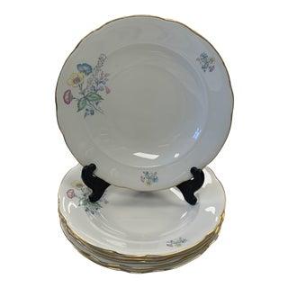Mid 20th Century Italian Richard Ginori Deep Dish Soup Plates - Set of 6 For Sale