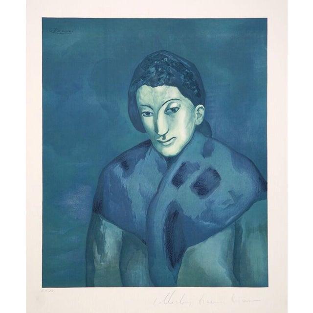 """Pablo Picasso, """"Buste De Femme,"""" Lithograph For Sale"""