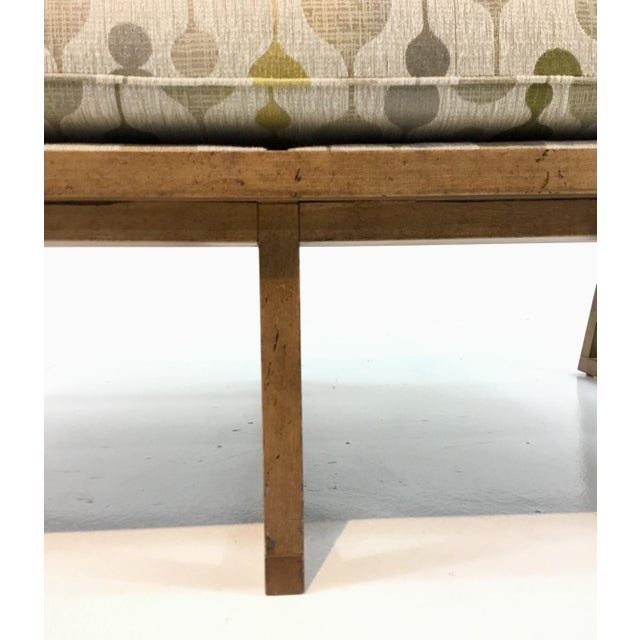 Danish Modern Mid-Century Danish Modern Style Milan Settee By: Currey & Co. For Sale - Image 3 of 7