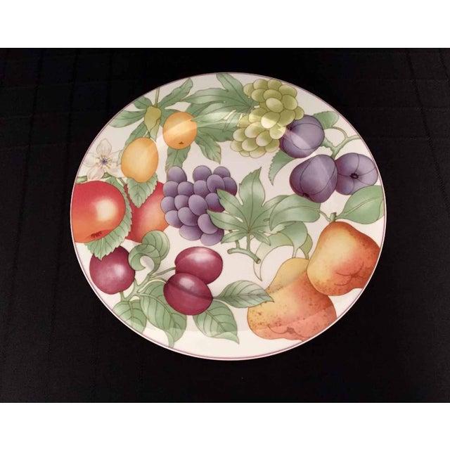 Villeroy & Boch, Gallo Design, Frutteto, Chop/Charger Plates - Set of 5 For Sale - Image 10 of 13