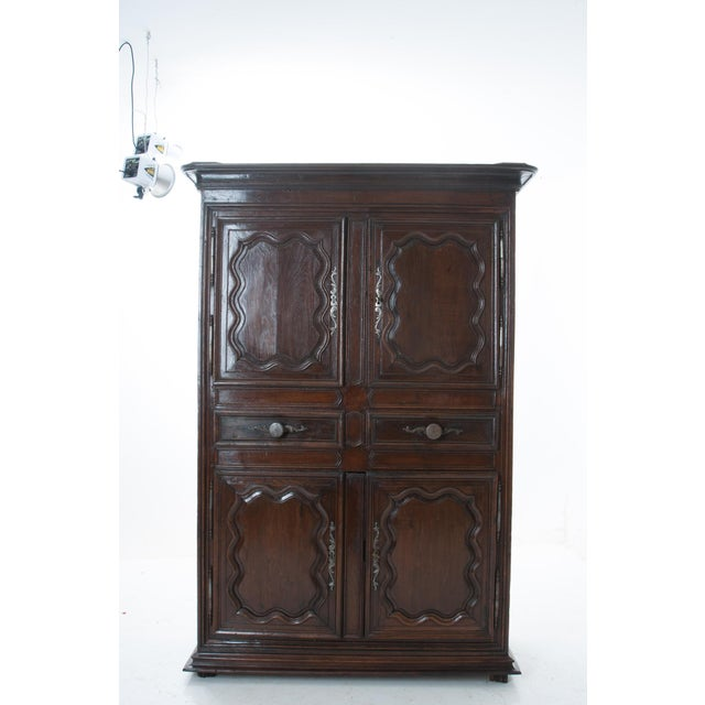 French French 18th Century Dark Oak Homme Debout / Cupboard For Sale - Image 3 of 10