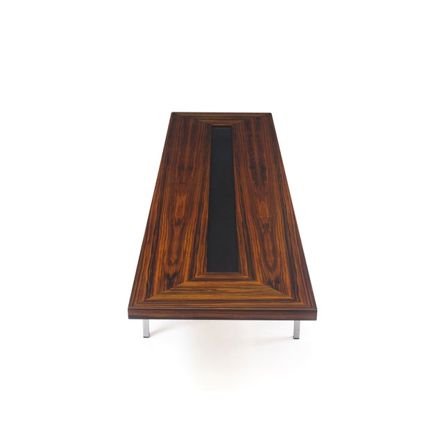 Black Santos Rosewood Coffee Table For Sale - Image 8 of 11