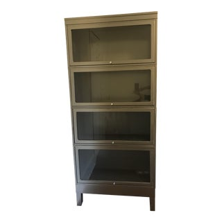 Vintage Stacking Steel Lawyers Bookcase