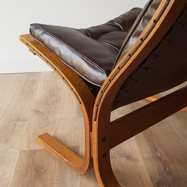 Chocolate 1970s Vintage Ingmar Relling Siesta Chairs for Westnofa - 3 Pieces For Sale - Image 8 of 13