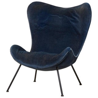 Fritz Neth 'Madame' Lounge Chair for Correcta, Germany, 1950s Upholstery Needed For Sale