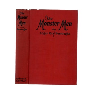 "1929 ""The Monster Men"" Collectible Book For Sale"
