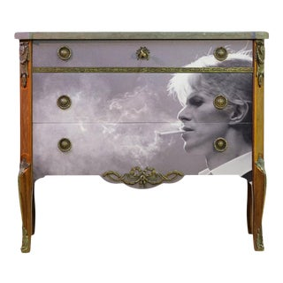 1930s Gustavian Haupt Commode Fully Renovated to Highest Standard With New Design For Sale