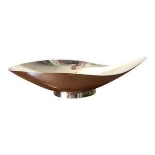 Mid-Century Oblong Silver Dish by Reed and Barton For Sale