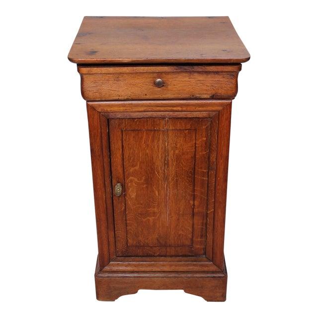 Louis Phillipe 1840 Oak Commode For Sale