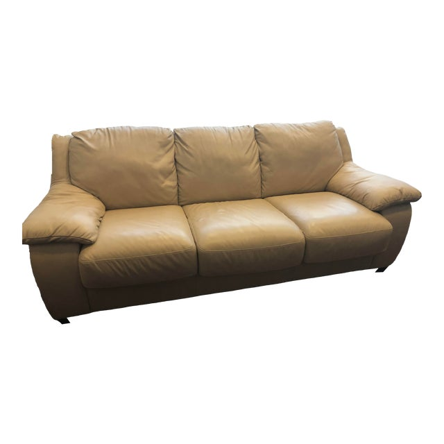 Astonishing Modern Natuzzi Leather Sofa Pabps2019 Chair Design Images Pabps2019Com