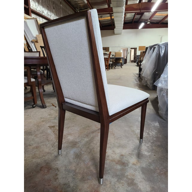 Mid-Century Modern Henredon Furniture David Kleinberg Talice Upholstered Dining Chair For Sale - Image 3 of 7