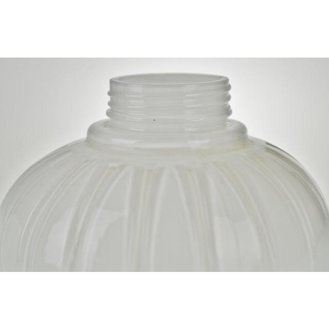Mid century modern white glass artichoke lamp shades set of 3 mid century modern white glass artichoke lamp shades set of 3 image 12 of aloadofball Image collections