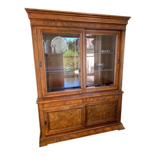 Ethan Allen China Cabinet For Sale