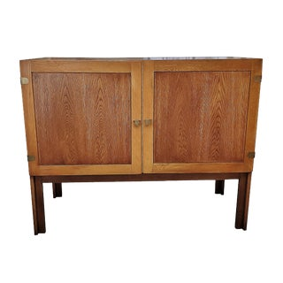 1960s Danish Mid-Century Modern Cabinet by H. G. Furniture For Sale