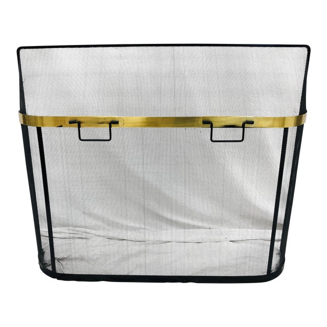 Vintage Fireplace Screen For Sale