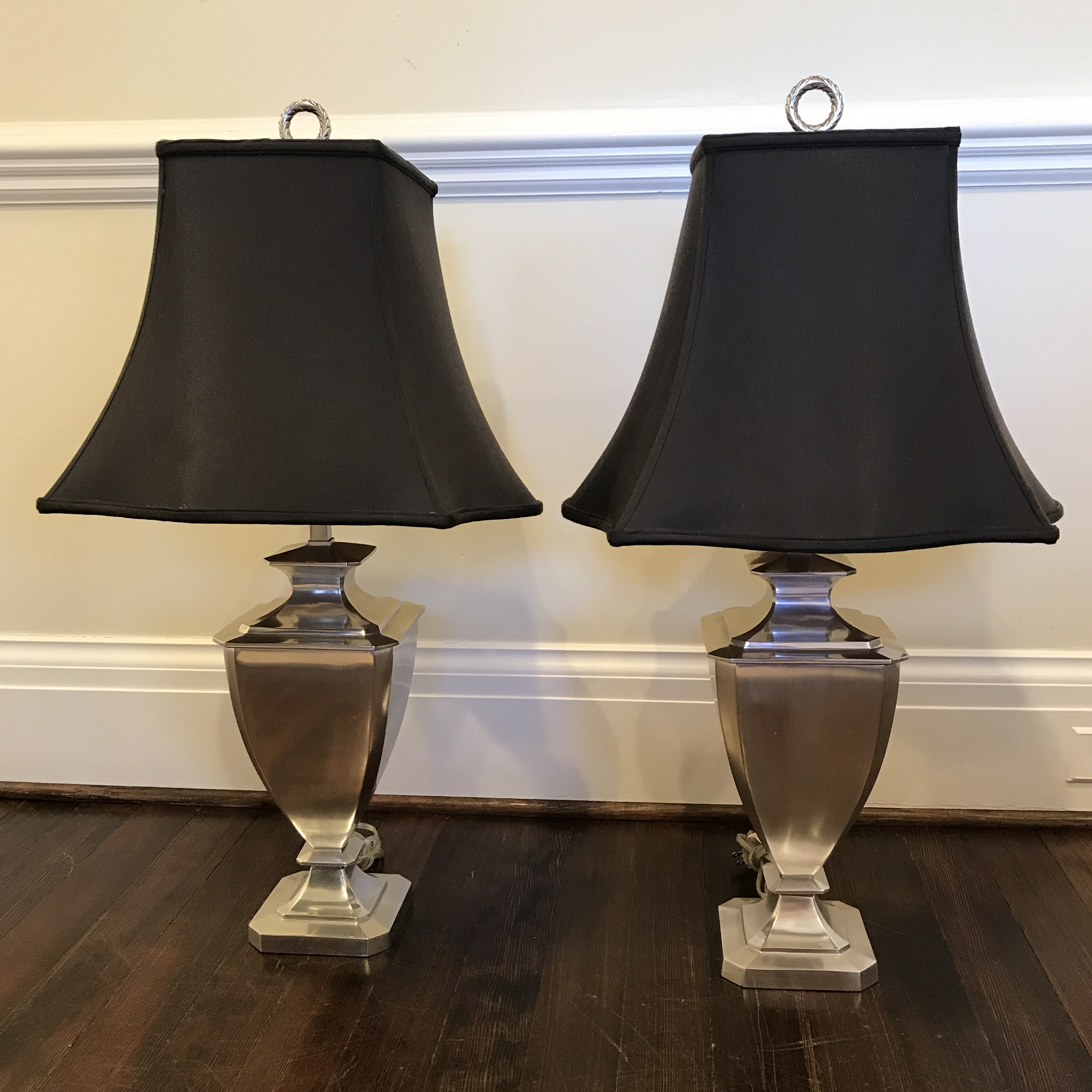 Restoration Hardware Table Lamps A Pair Chairish