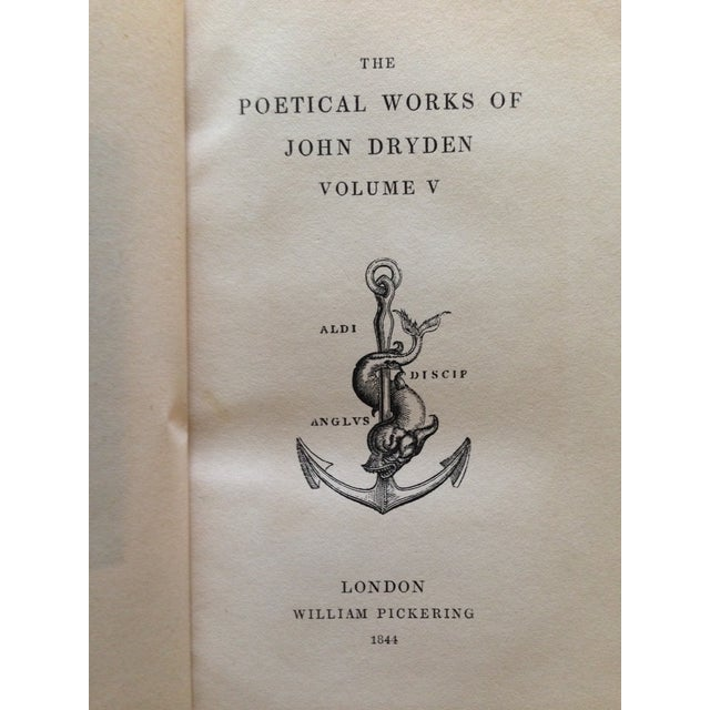 The Poetical Works of John Dryden - 5 Volumes - Image 5 of 8