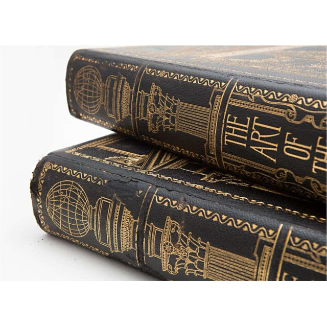 19th Century Art of the World Columbian Exposition Books - 2 Volumes For Sale - Image 9 of 11