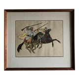 Image of Early 20th Century Antique Yvonne Kleiss Herzig Original Watercolor Drawing For Sale