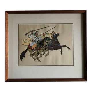Early 20th Century Antique Yvonne Kleiss Herzig Original Watercolor Drawing For Sale