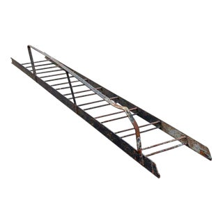 Cast Iron Fire Escape Ladder For Sale