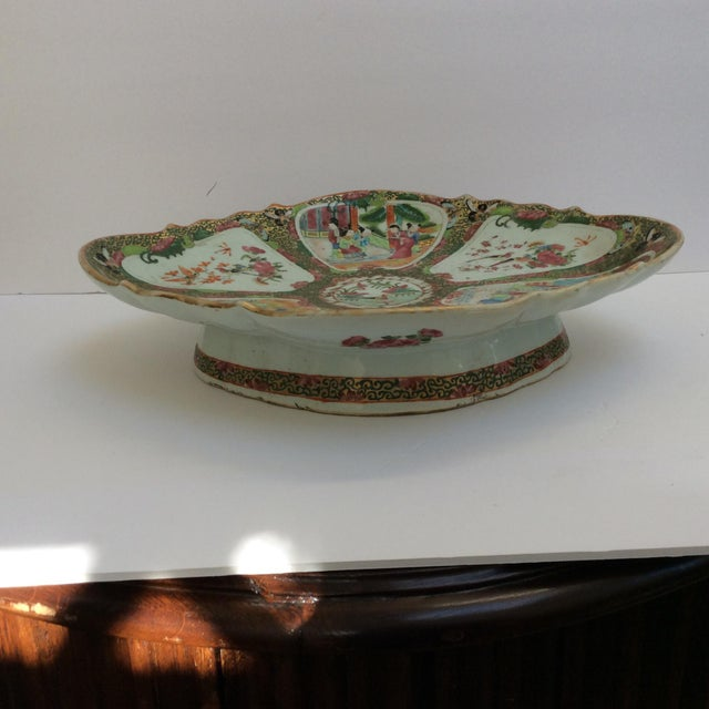 Chinese Canton Famille Rose Serving Platter - Image 3 of 11