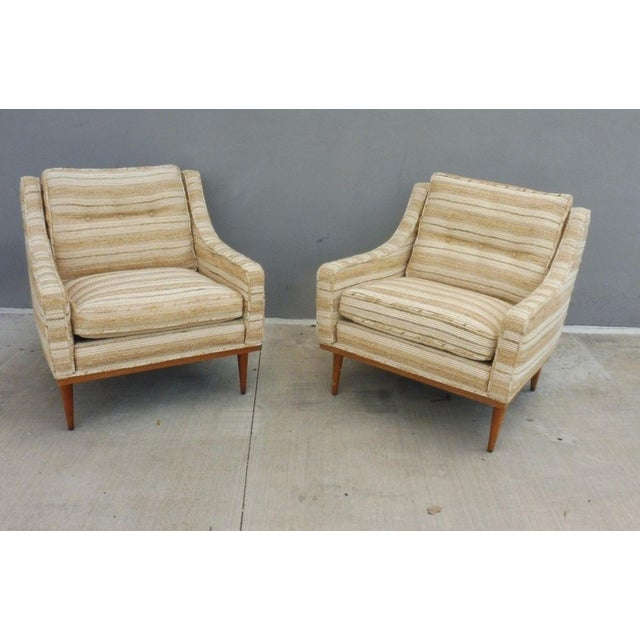 Two Milo Baughman articulate seating lounge chairs by James Inc sold as found in original condition. We have another pair...