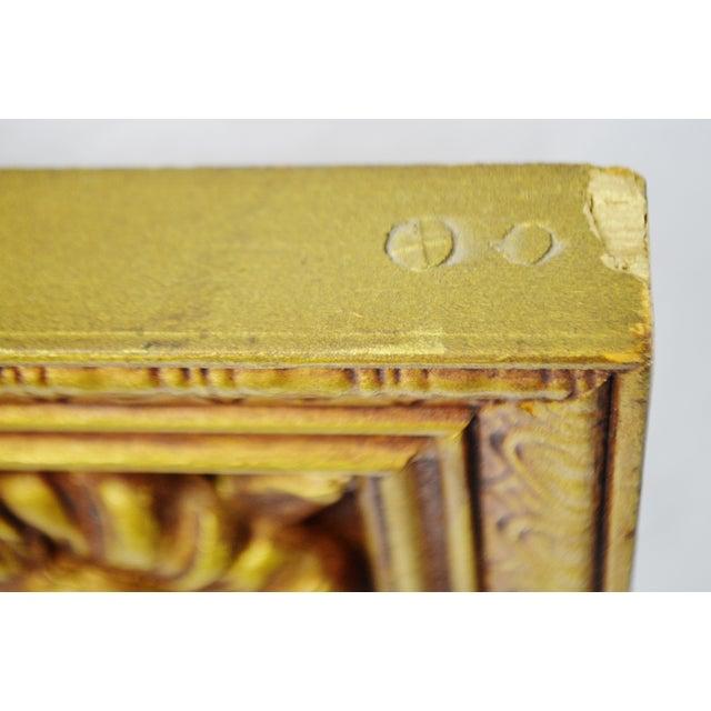 Gold Gilt Pierced Wall Mirror - Image 7 of 9