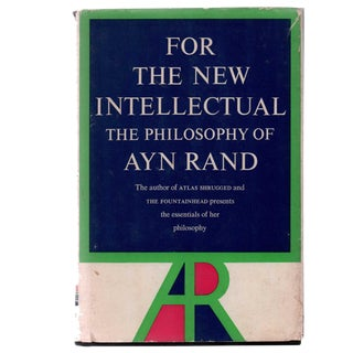 "1961 ""The Philosophy of Ayn Rand"" Collectible Book For Sale"