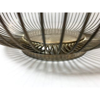 Mid-Modern Stainless Steel Wire Basket Preview