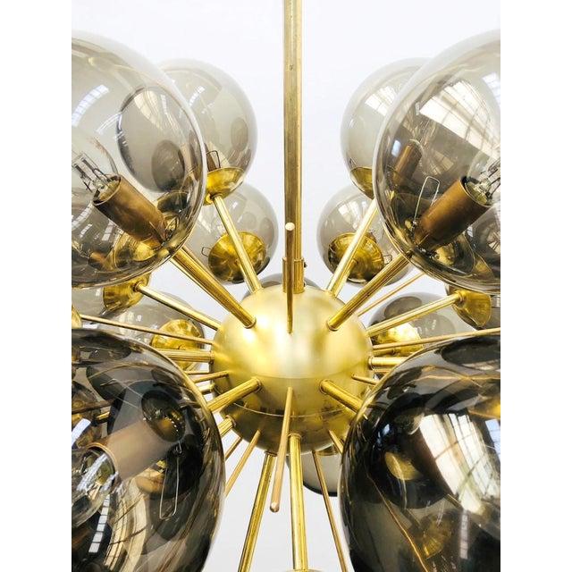 Ventiquattro Sputnik Chandelier by Fabio Ltd For Sale - Image 10 of 12