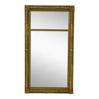 Labarge Gold Framed Federal Style Mirror 8210-28 For Sale