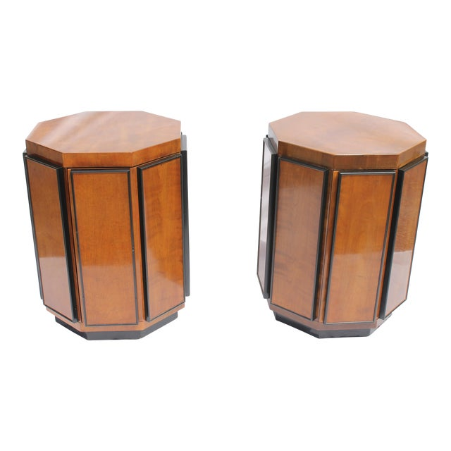 Henredon Mid-Century Nightstands or End Tables - A Pair - Image 1 of 11