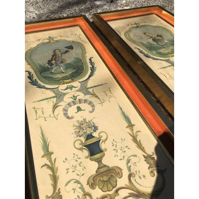 Neoclassical Framed Lithograph Prints - a Pair For Sale - Image 9 of 12