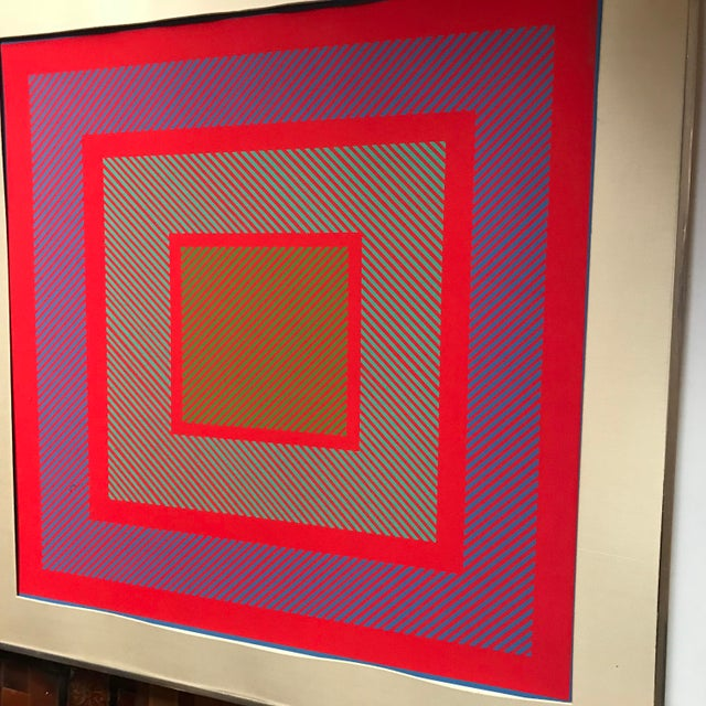 Richard Anuszkiewicz Op Art Signed For Sale In New York - Image 6 of 9