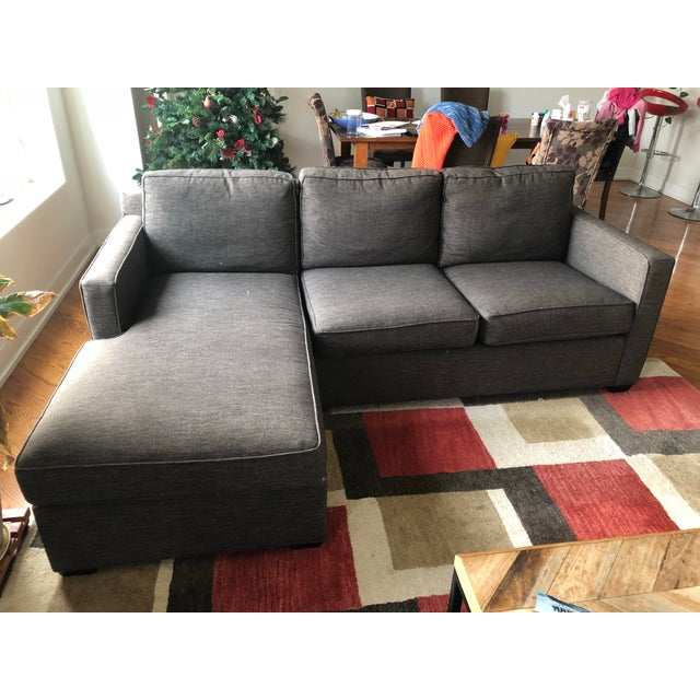 The relaxed experience of this 2-piece sectional sofa, is with a shallow seat and super-soft back cushions for family and...