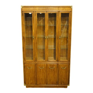 Drexel Heritage Accolade Collection Campaign Style Cabinet For Sale