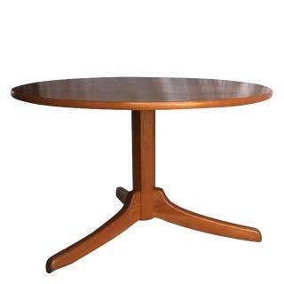 Mid-Century Modern Josef Frank Maple Gueridon Table For Sale