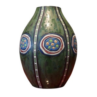 1920s Maurice Dufrane Vase For Sale
