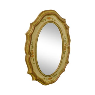 Drexel Heritage Et Cetera Paint Decorated Wall Mirror