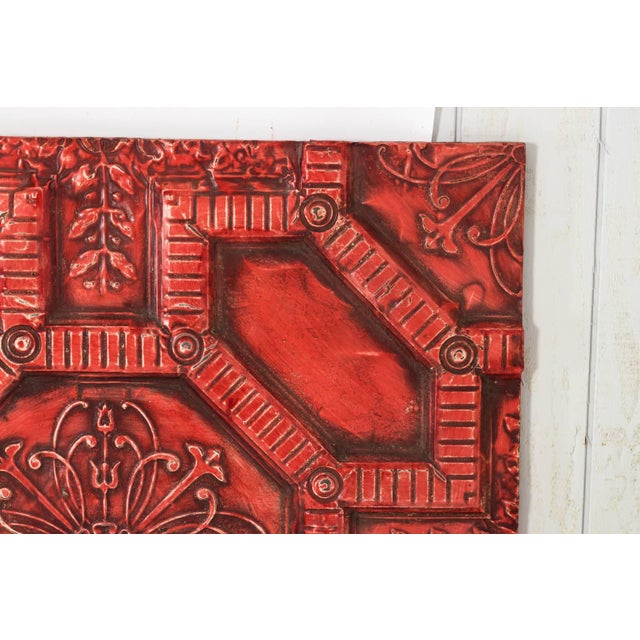 Tin Ceiling Panel For Sale - Image 4 of 13